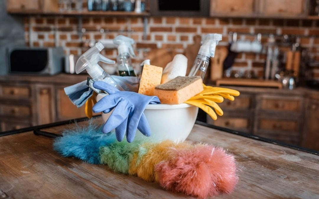 improve indoor air quality by keeping the home clean